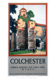 Colchester Castle Giclee Print