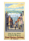 Old World Cornwall Giclee Print