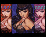 Bettie Page - Colors Prints