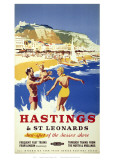 Hastings Sea Giclee Print