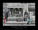 Highway Fifty One (Silver Series) Posters par Chris Consani