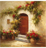Rustic Doorway IV Prints by David Lakewood