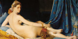 La Grande Odalisque, 1814 Art by J.A. Dominique Ingres