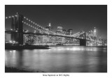 NYC Nights Poster von Nina Papiorek