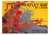 Whitley Bay by LNER Giclee Print