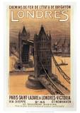 Londres Lámina giclée