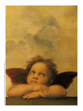 Sistine Madonna Prints by Raphael Sanzio