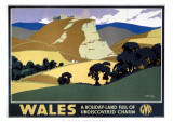 Wales Undiscovered Charm Giclee Print