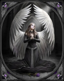 Anne Stokes (Prayer for the Fallen) Poster by Anne Stokes