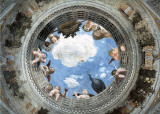 Ceiling of the Camera Picta (Oculus) Print by Andrea Mantegna