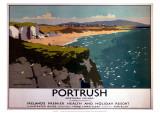 Portrush, Northern Ireland, LMS, c.1923-1947 Giclee Print