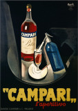 Campari Affiches par Marcello Nizzoli