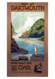 Stay at Dartmouth, GWR, c.1930s Giclee Print