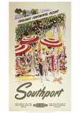 Southport England's Continental Resort Giclee Print