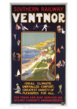 Ventnor, SR, c.1920s Reproduction procédé giclée