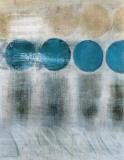 Blauer Mond I Kunstdruck von Heather Mcalpine