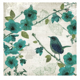 Birds and Butterflies I Posters by Tandi Venter