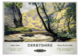 Derbyshire Giclee Print