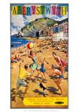 Aberystwyth, BR (WR), c.1960 Giclee Print by Harry Riley