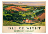 Isle of Wight,SR, c.1946 Reproduction procédé giclée par  Allinson
