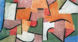 Uberland, 1937 Kunstdrucke von Paul Klee