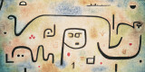 Insula Dulcamara, 1938 Posters tekijn Paul Klee