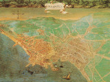 Modern Italy - Naples 1600 Lminas por Ignazio Danti