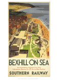 Bexhill-On-Sea from Air Giclee Print