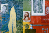 Racing Thoughts, 1983 Print by Jasper Johns