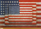 Three Flags, 1958 Art by Jasper Johns