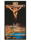 Christ of St. John of the Cross Art by Salvador Dalí