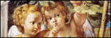 Anges Affiches par Annibale Carracci