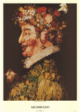 Spring Poster by Giuseppe Arcimboldo
