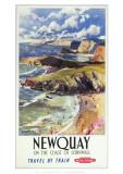 Newquay Giclee Print