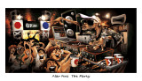 The Party Prints by Adam Perez