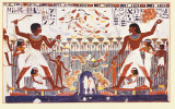 Egyptian Art - Tebe 1410 A.C. Posters