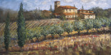 Tuscan Olives Print by Malcolm Surridge