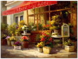 Garden Cafe Prints by Calvin Stephens