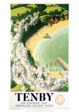 Tenby Giclee Print
