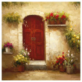 Rustic Doorway III Print by David Lakewood