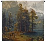 Sierra Nevada Wall Tapestry by Albert Bierstadt