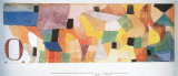 O, 1915 Print by Paul Klee