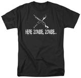 Here Zombie, Zombie T-shirts