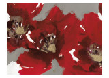 Red Poppy Forest I Konst av Natasha Barnes
