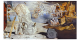 The Separation of Atom 1947 Prints by Salvador Dalí