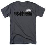 Zombie Moon Shirts