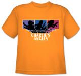 Toddler: Charlie's Angels-Tri-Color Angels T-shirts