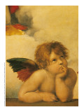 Sistine Madonna Poster by Raphael Sanzio
