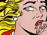 Crying Girl, c.1963 Print by Roy Lichtenstein