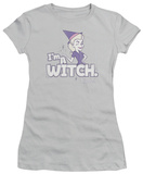 Juniors: Bewitched - I' m a Witch Shirt